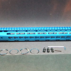 12″ Inch AR15 Ultra Light Slim M-LOK Skeletal Slanted Anodized Free