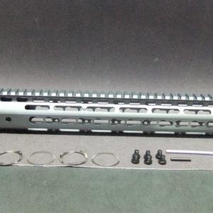 15″ Inch AR15 AR-15 AR Ultra Light Slim BARE ALUMINUM KEYMOD