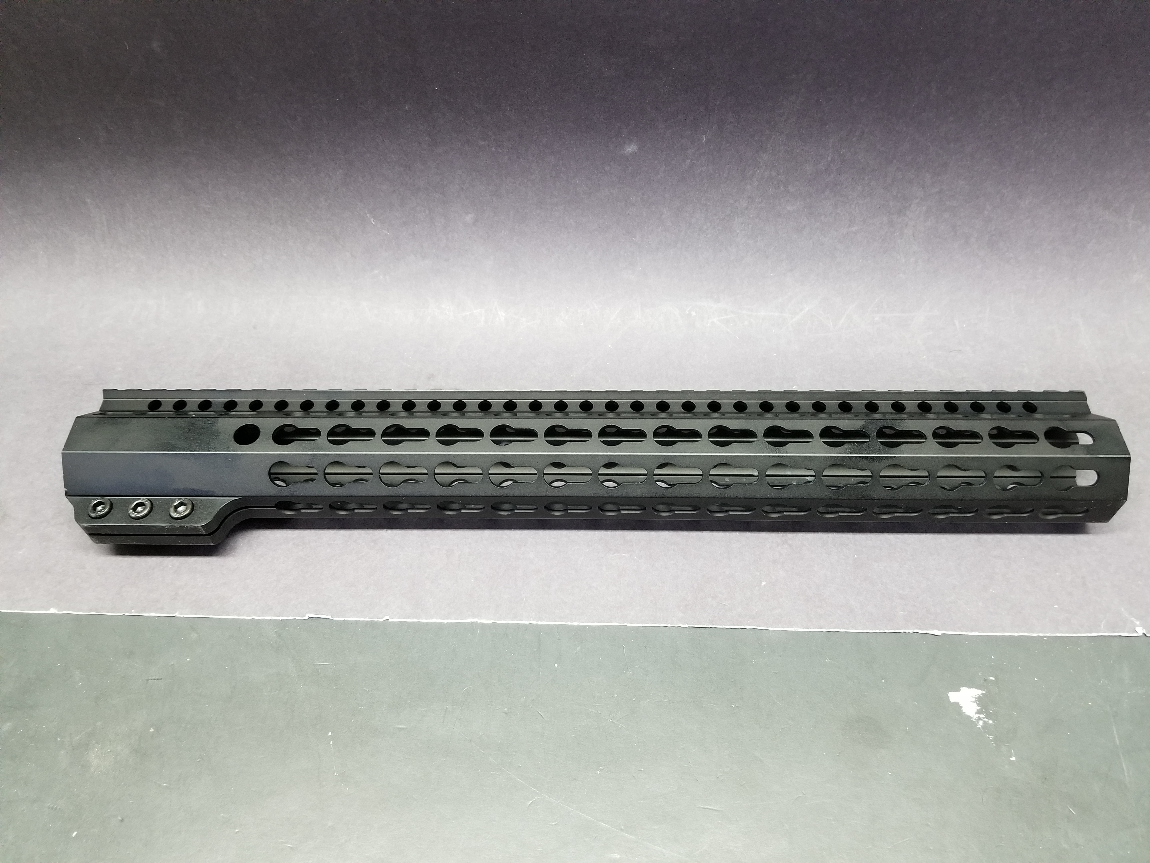 15 Inch Ar 15 Ultra Light Slim Clamp Style Black Anodized All